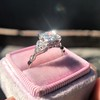 1.31ctw Art Deco Transitional Cut Diamond Ring 28