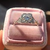 1.31ctw Art Deco Transitional Cut Diamond Ring 27