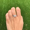 1.31ctw Art Deco Transitional Cut Diamond Ring 19