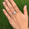 1.31ctw Art Deco Transitional Cut Diamond Ring 20