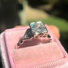 1.31ctw Art Deco Transitional Cut Diamond Ring 29