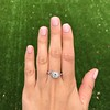 1.31ctw Art Deco Transitional Cut Diamond Ring 16