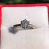 1.32ct Old European Cut Solitaire by Vatche, GIA I VS 8