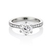 1.32ct Old European Cut Solitaire by Vatche, GIA I VS 0