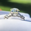 1.33ct Art Deco Old European Cut Diamond Solitaire 7