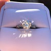 1.33ct Art Deco Old European Cut Diamond Solitaire 13