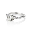 1.33ct Art Deco Old European Cut Diamond Solitaire 1