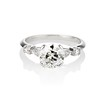 1.33ct Art Deco Old European Cut Diamond Solitaire 0