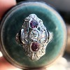 1.35ctw Diamond and Ruby Filigree Ring 27