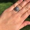 1.36ctw Art Deco Geometric Engagement Ring 30