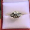 1.36ctw Art Deco Geometric Engagement Ring 12