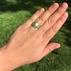 1.36ctw Art Deco Geometric Engagement Ring 26