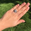 1.36ctw Art Deco Geometric Engagement Ring 31