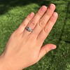 1.36ctw Art Deco Geometric Engagement Ring 32