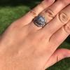 1.36ctw Art Deco Geometric Engagement Ring 29