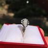 1.36ctw Art Deco Geometric Engagement Ring 7