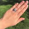 1.36ctw Art Deco Geometric Engagement Ring 24