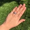 1.36ctw Art Deco Geometric Engagement Ring 35