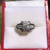 1.36ctw Art Deco Geometric Engagement Ring 10