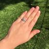 1.36ctw Art Deco Geometric Engagement Ring 34
