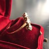 1.38ctw Antique Old European Cut Diamond 3-Stone Ring 19