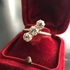 1.38ctw Antique Old European Cut Diamond 3-Stone Ring 25