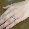 1.38ctw Antique Old European Cut Diamond 3-Stone Ring 15