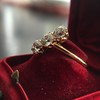 1.38ctw Antique Old European Cut Diamond 3-Stone Ring 3