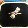 1.38ctw Antique Old European Cut Diamond 3-Stone Ring 9