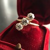 1.38ctw Antique Old European Cut Diamond 3-Stone Ring 23