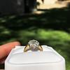 1.38ctw Fancy Golden Brown Old European cut Diamond Cluster Ring 22