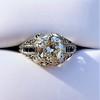 1.40ct Vintage Diamond Dome Ring 16