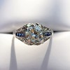 1.40ct Vintage Diamond Dome Ring 29