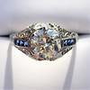 1.40ct Vintage Diamond Dome Ring 5