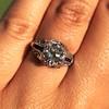 1.40ct Vintage Diamond Dome Ring 13