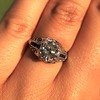 1.40ct Vintage Diamond Dome Ring 14