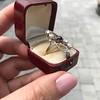 1.40ctw Art Nouveau Sapphire and Diamond Ring 20