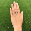 1.40ctw Art Nouveau Sapphire and Diamond Ring 14