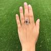 1.40ctw Art Nouveau Sapphire and Diamond Ring 12