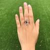 1.40ctw Art Nouveau Sapphire and Diamond Ring 11