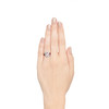 1.42ctw Emerald Cut and Ruby Art Deco Fancy Ring 2