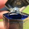 1.47ctw Old European Cut Diamond, Orange Blossom Solitaire 25