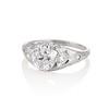 1.47ctw Old European Cut Diamond, Orange Blossom Solitaire 1