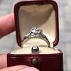 1.47ctw Old European Cut Diamond, Orange Blossom Solitaire 13