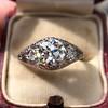 1.47ctw Old European Cut Diamond, Orange Blossom Solitaire 14