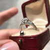 1.47ctw Old European Cut Diamond, Orange Blossom Solitaire 8