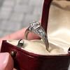 1.47ctw Old European Cut Diamond, Orange Blossom Solitaire 20