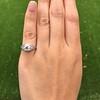 1.47ctw Old European Cut Diamond, Orange Blossom Solitaire 17