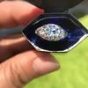 1.47ctw Old European Cut Diamond, Orange Blossom Solitaire 27