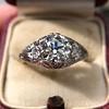 1.47ctw Old European Cut Diamond, Orange Blossom Solitaire 11